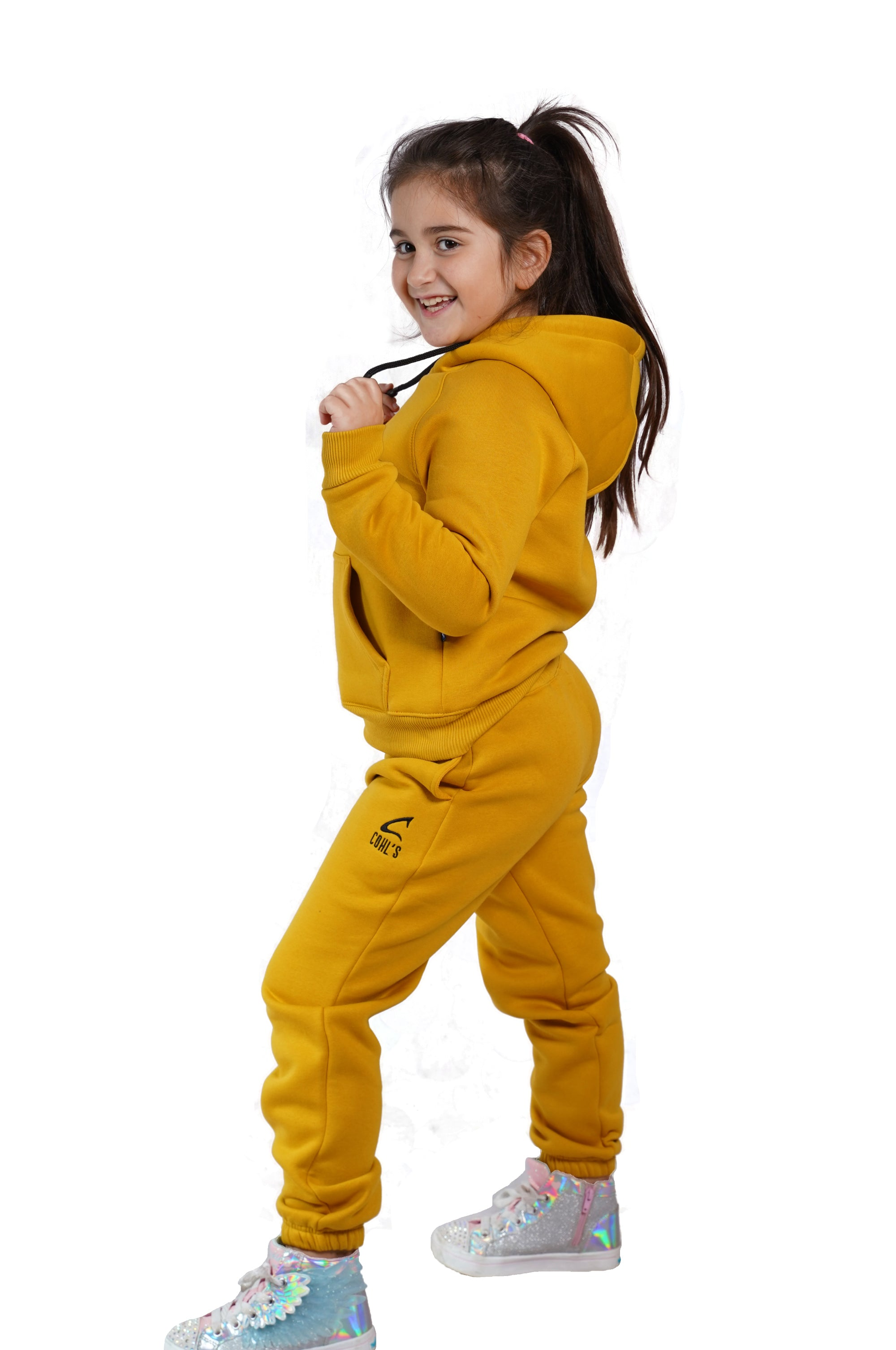 Mustard Tracksuit for Kids