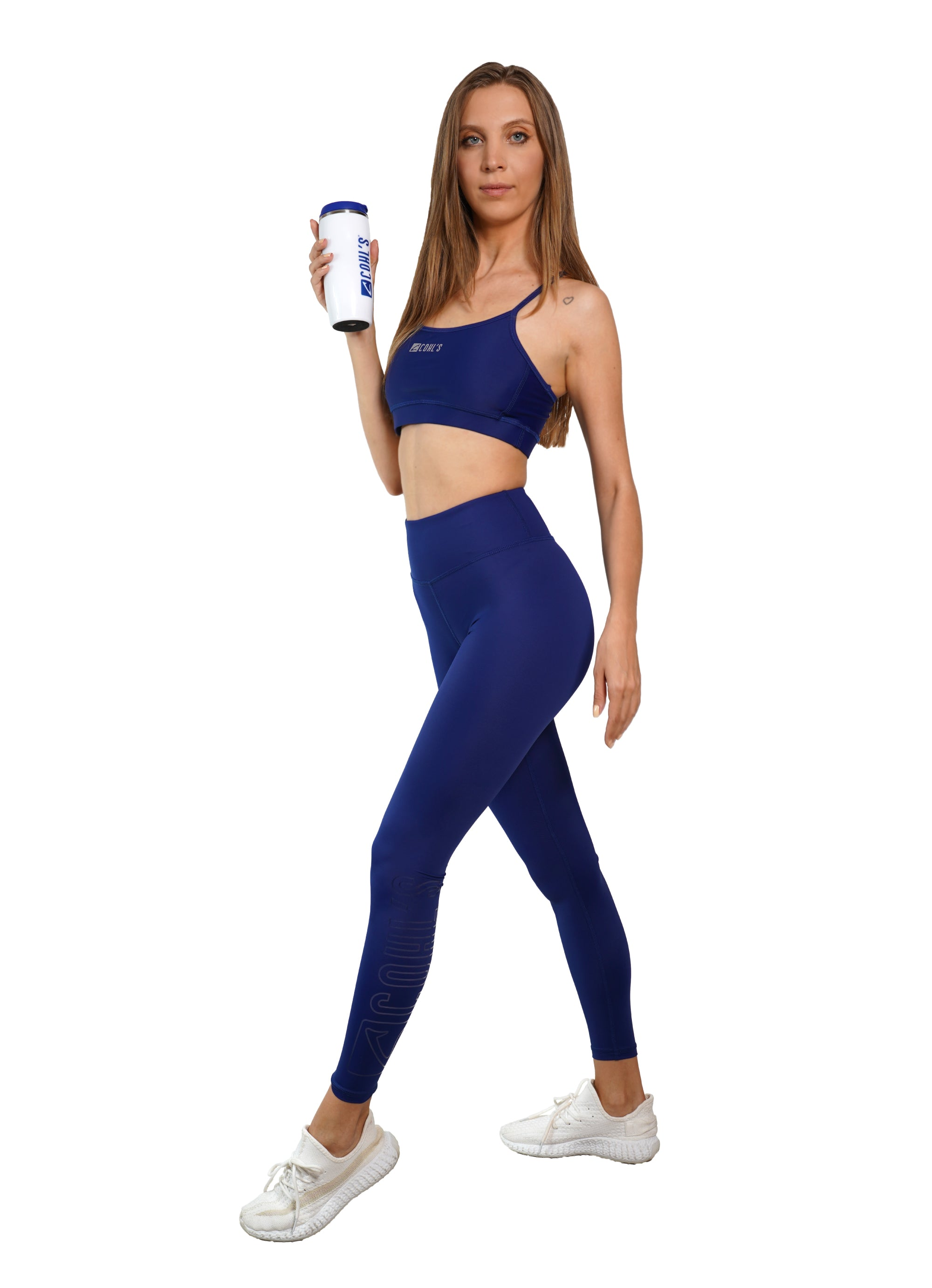 Basic VP Blue Leggings  / Outline Glass - C122010