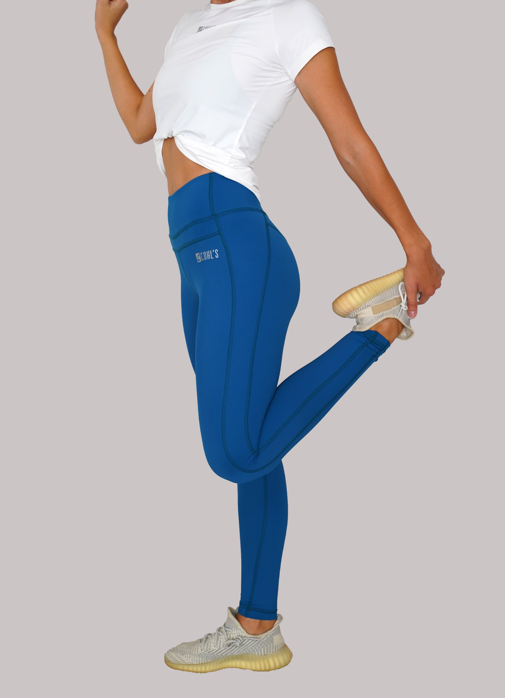 Caribbean Blue VP Full-Length Leggings / C122000