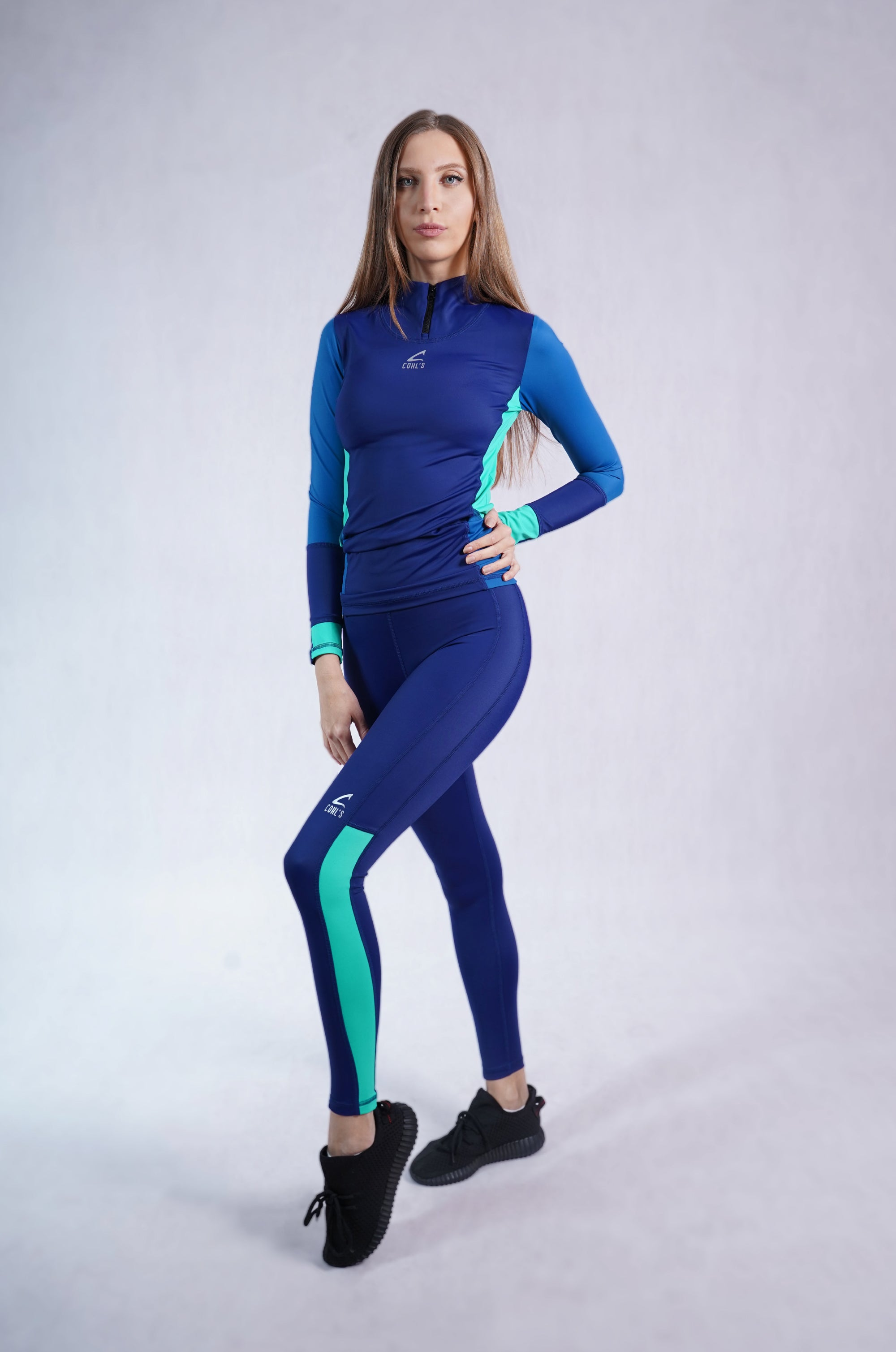 Leggings Blue/Mint-C122003