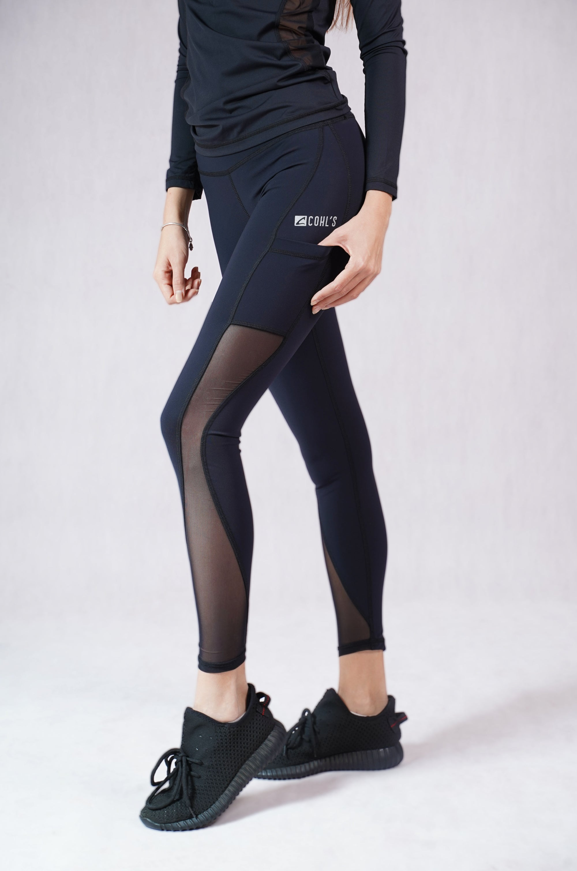 Leggings in Lace with Pocket-C122016