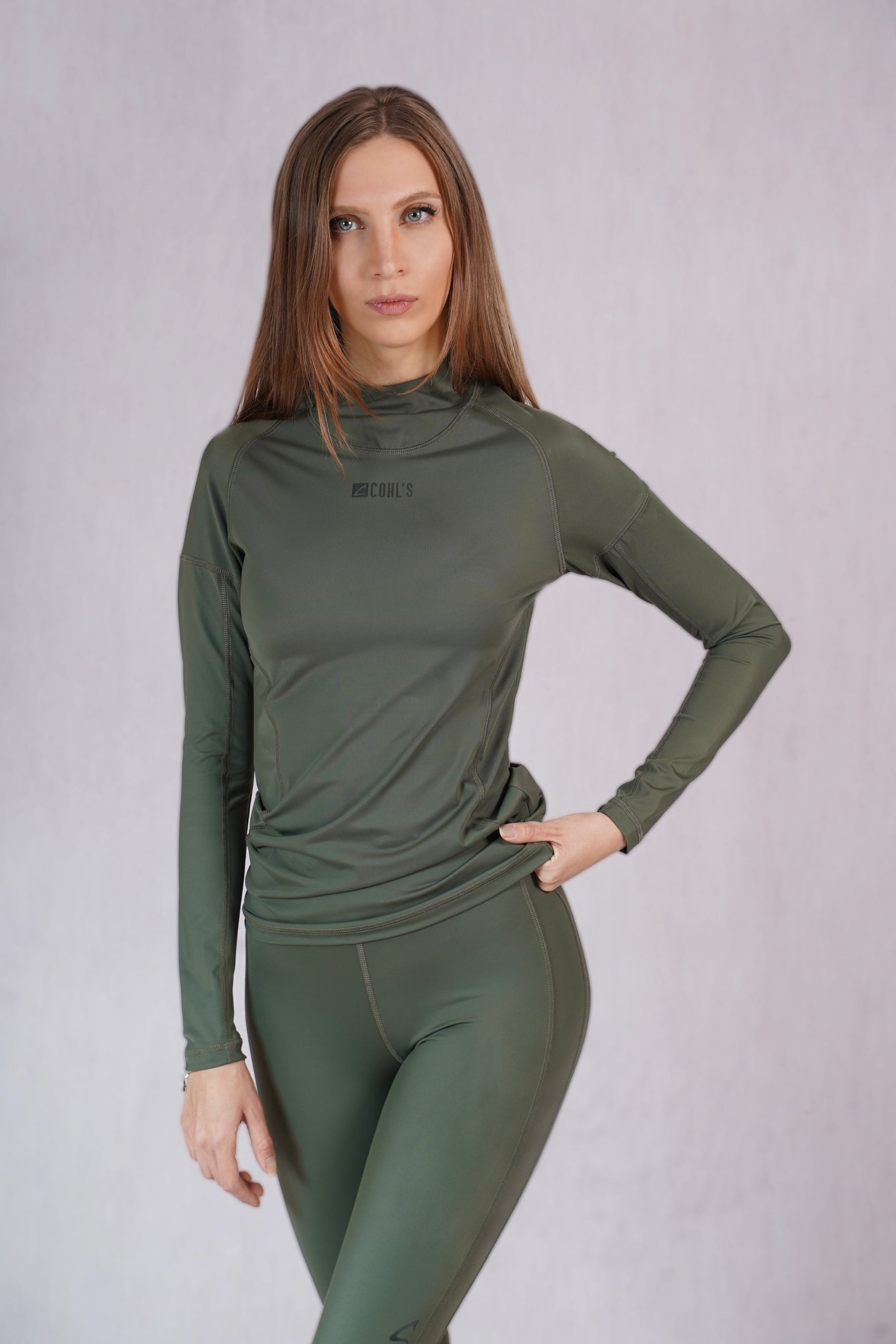 Slim Fit T-shirt in Army