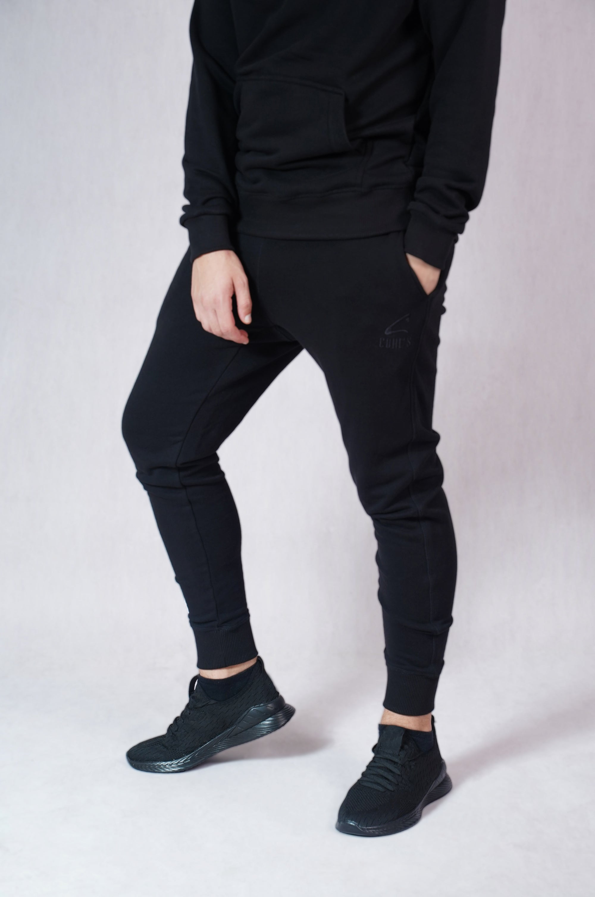 Black Sweatpants for Men - C212012