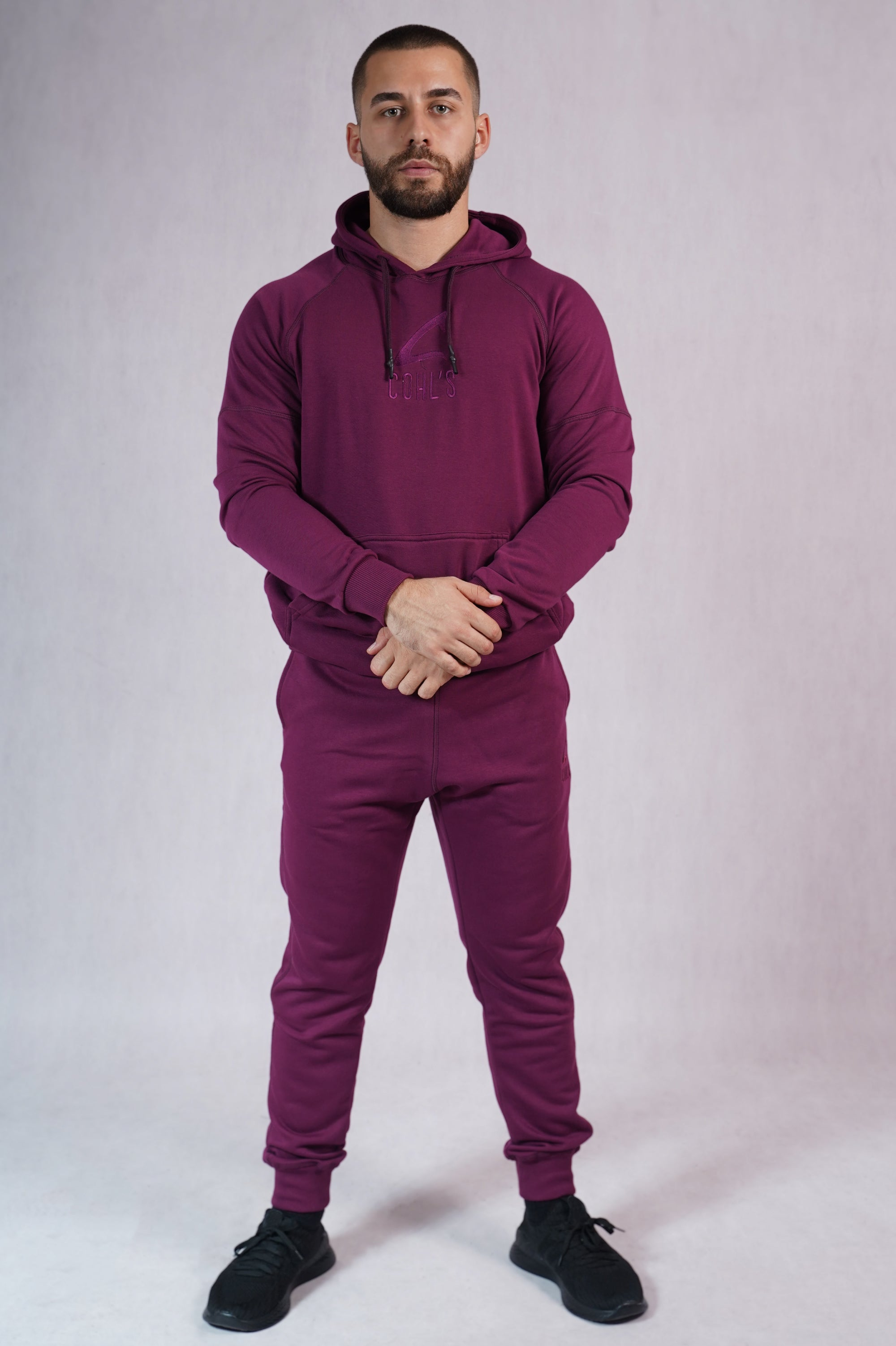 Purple Hoodie for Men  - C262021