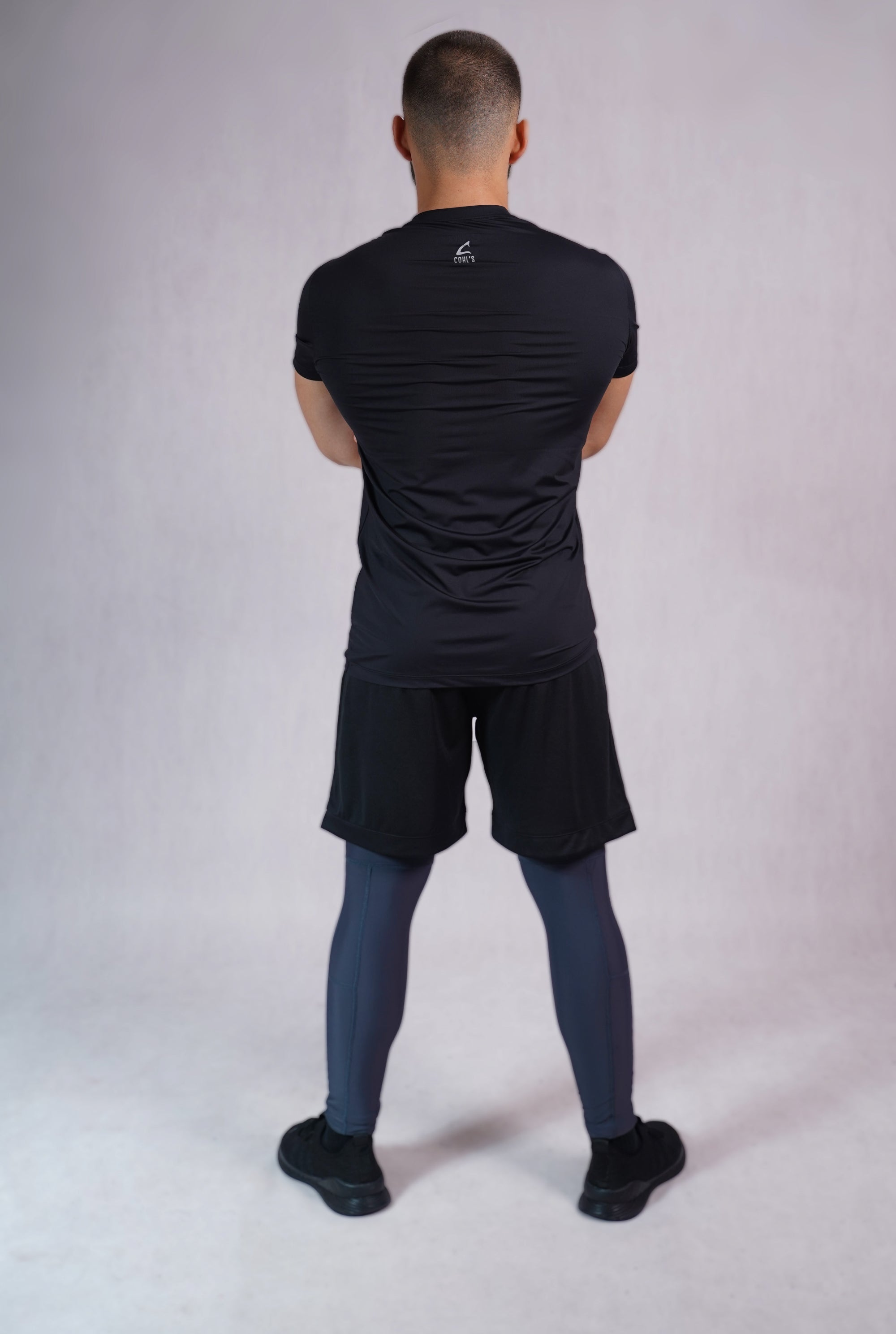 Men Leggings in Dark Grey - C222000