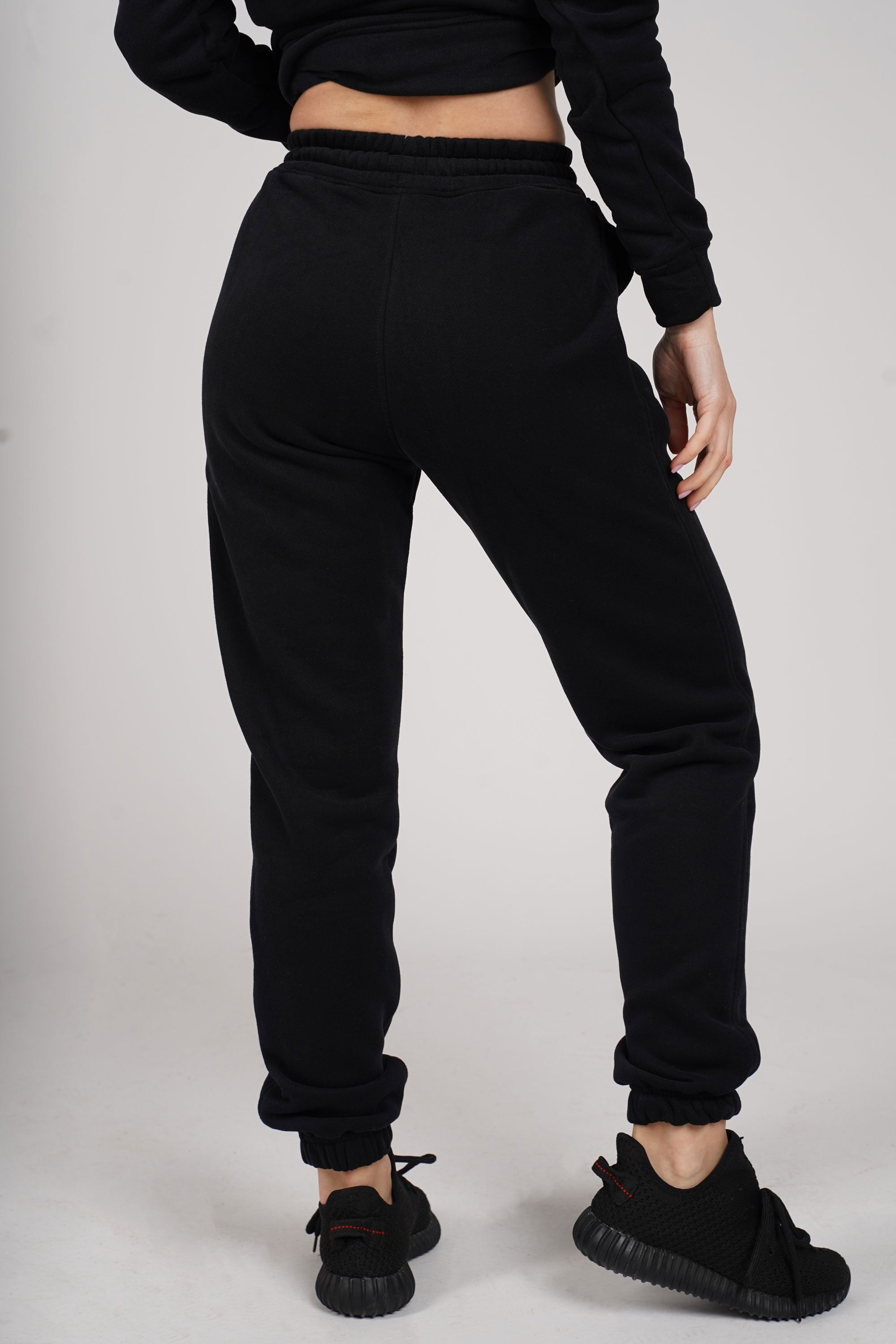 Black Oversize Sweatpants - C112025