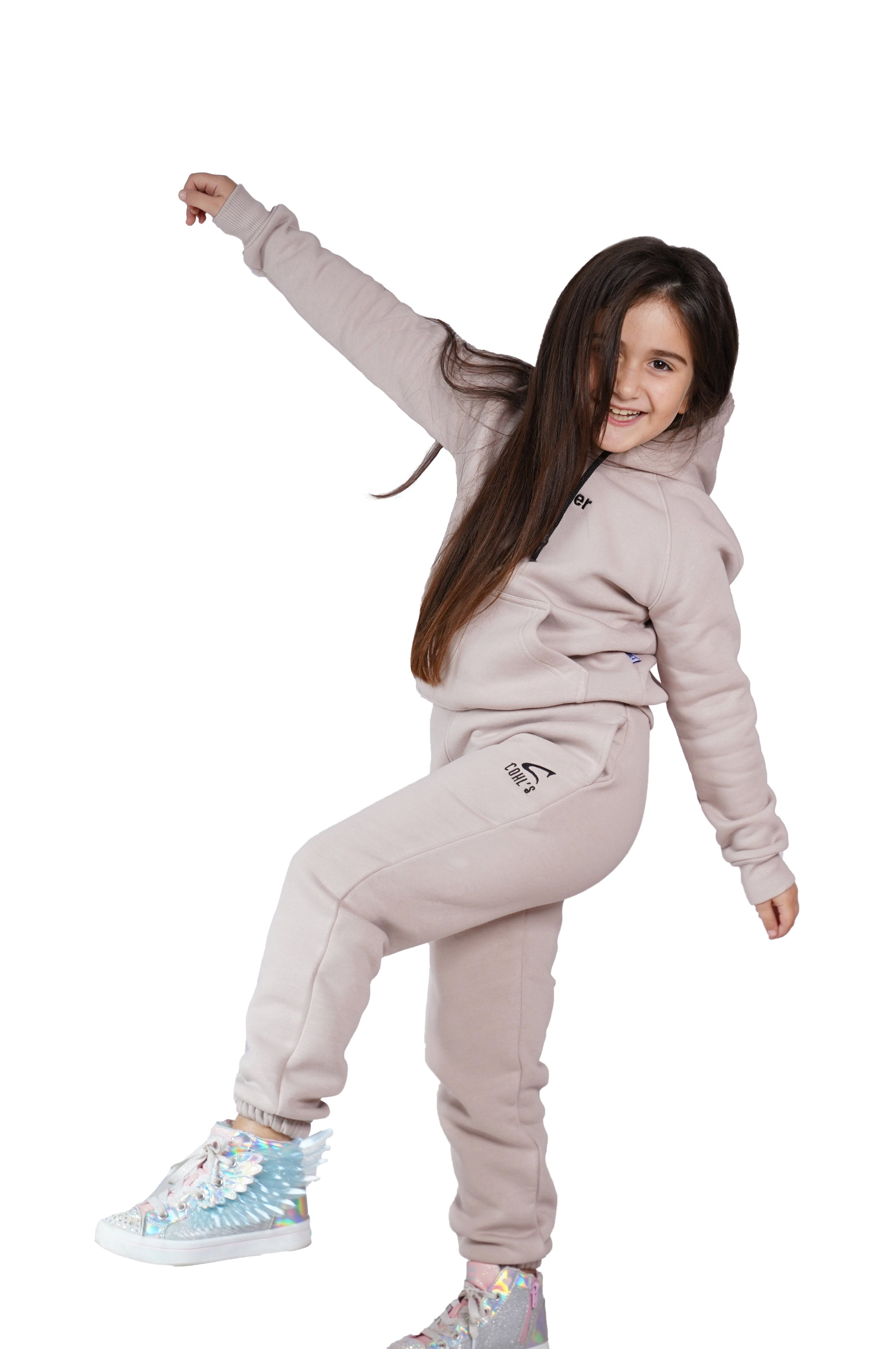 Nude Tracksuit for Kids