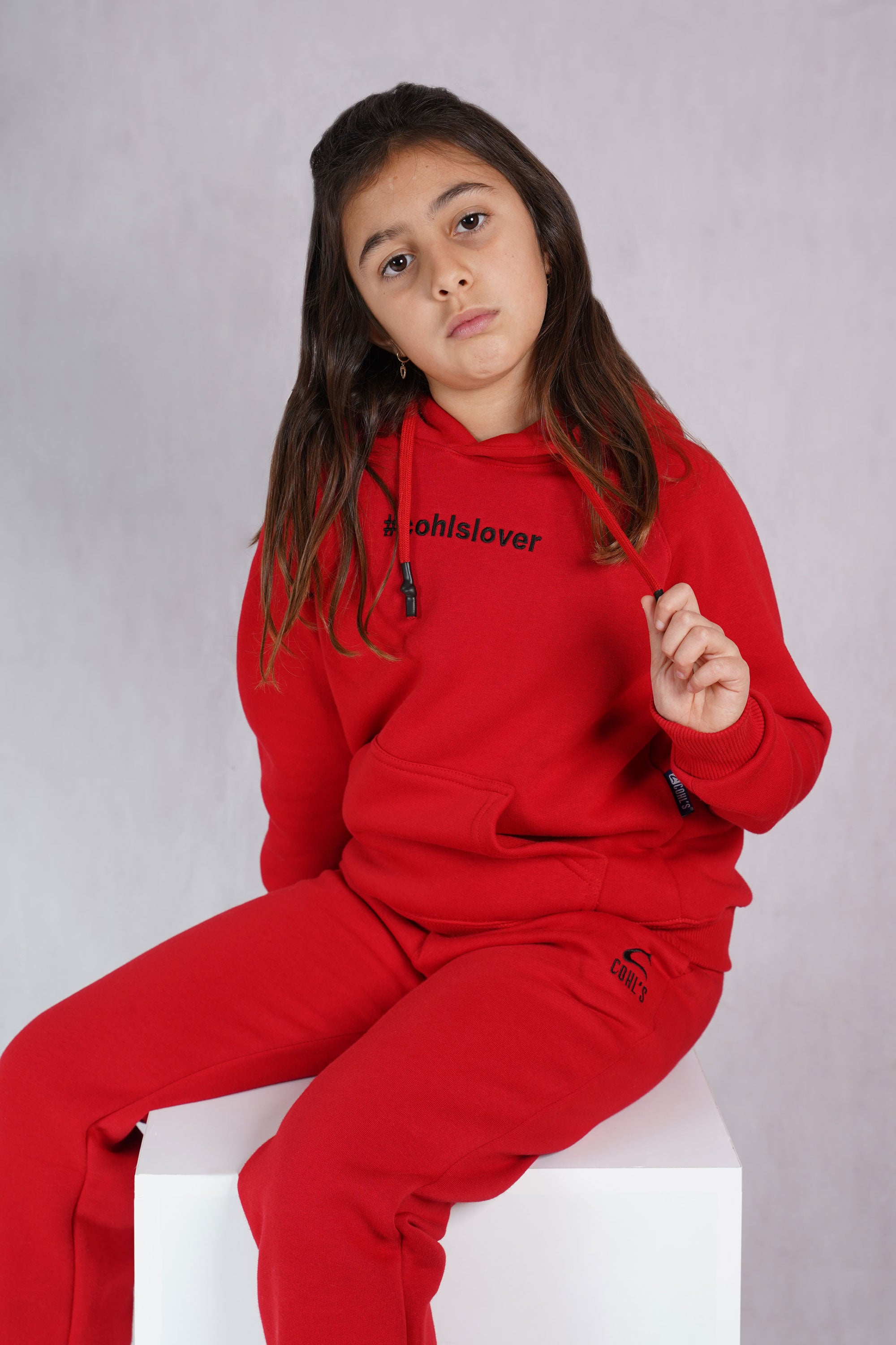 Red Tracksuit for Kids