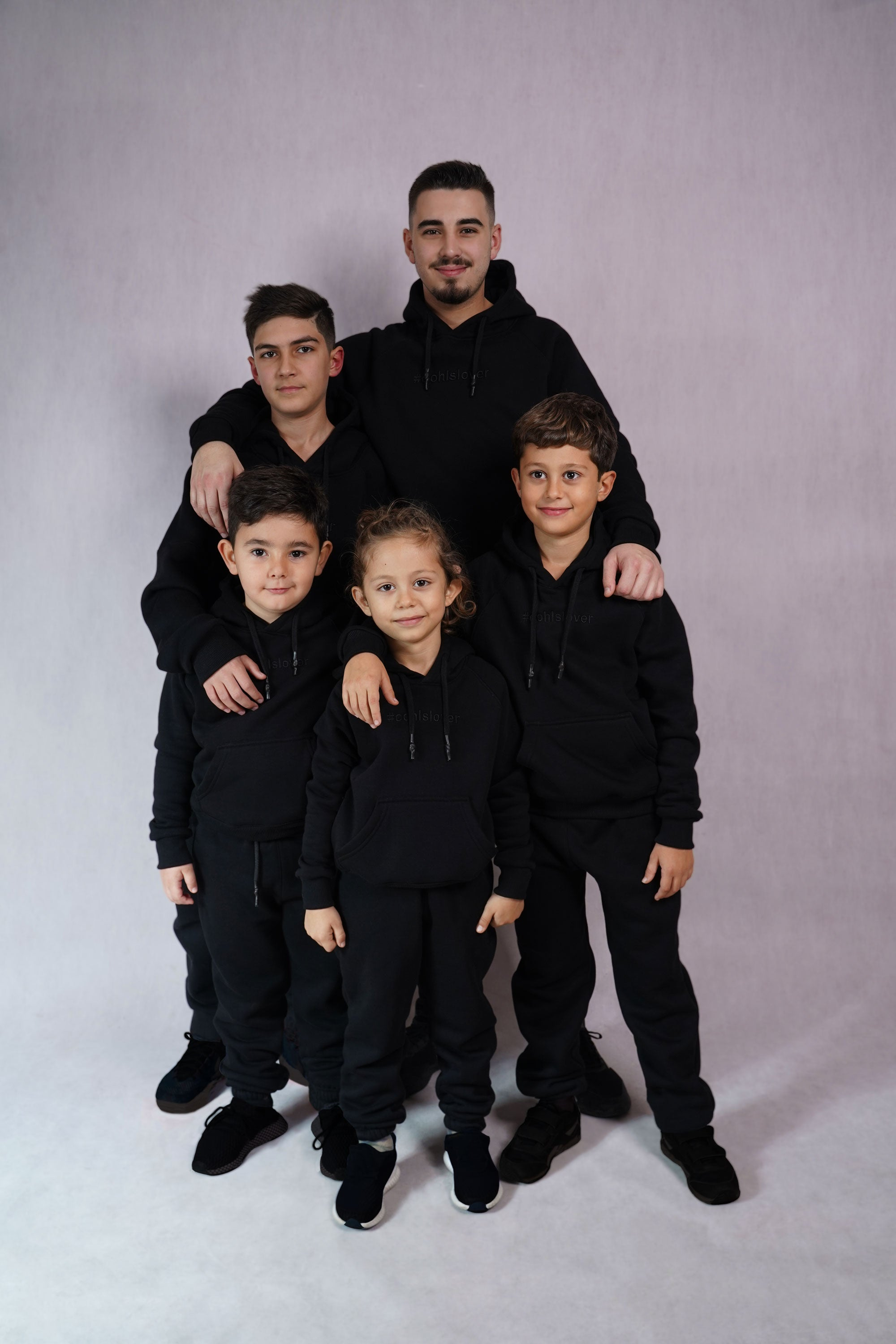 Black Tracksuit for Kids