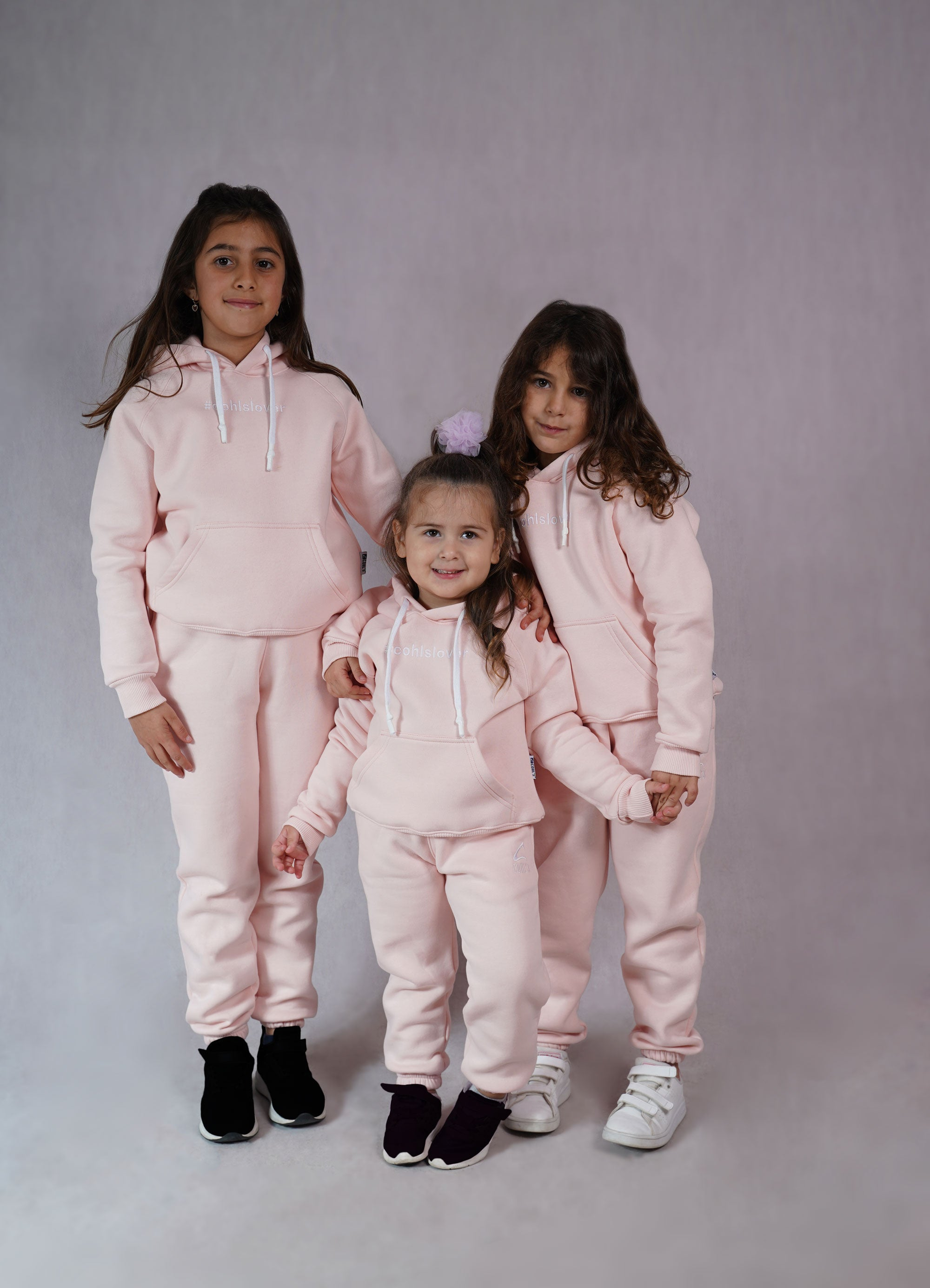 Baby Pink Tracksuit for Kids