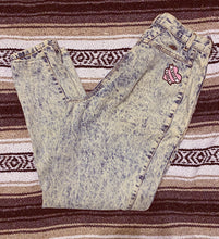 Load image into Gallery viewer, Boss Babe Vintage Acid Washed Jeans