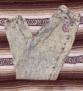 Boss Babe Vintage Acid Washed Jeans