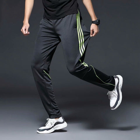 Running Pants Zipper Pockets