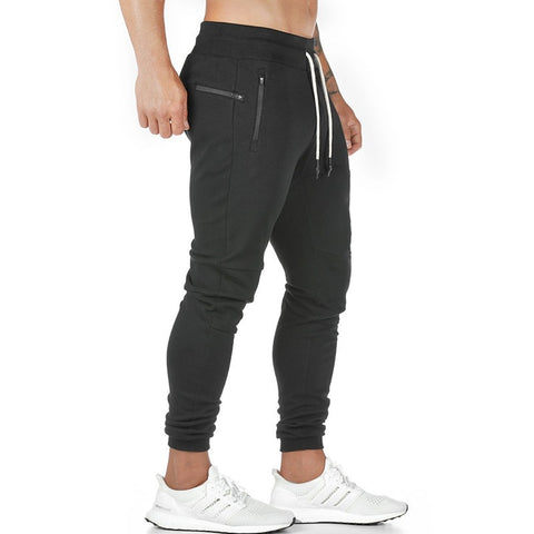 Jogging Pants Zip Pocket