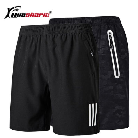 Zipper Pocket Running Shorts
