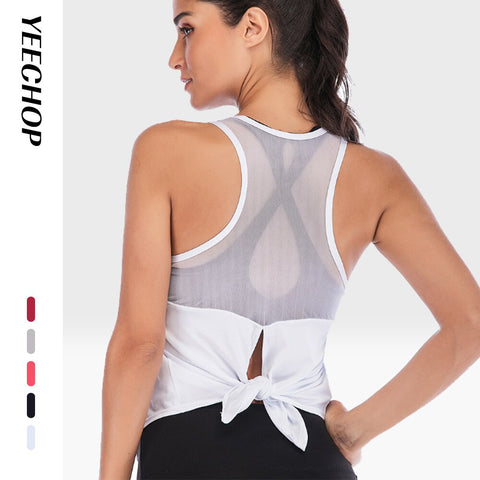 Workout Tops Sports Wear Stretchy
