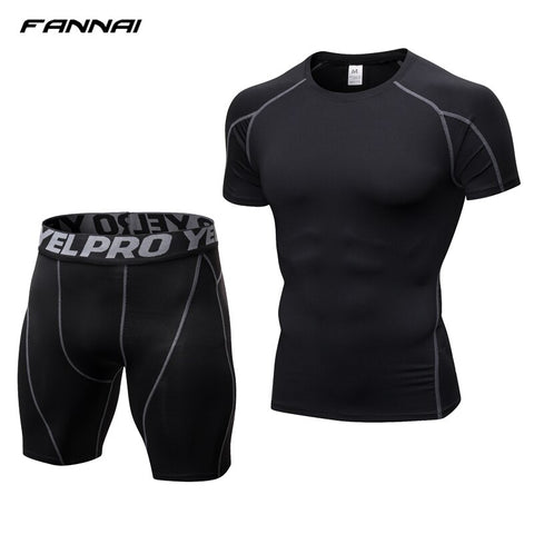 Tight Fitness Running Training Sportswear