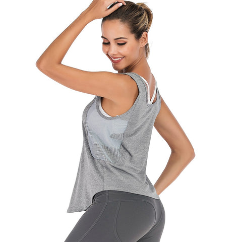 Breathable Top Running Sports Fitness Yoga