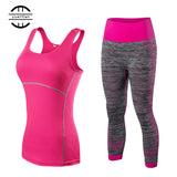Sportswear Leggings Sport Suit Yoga Set