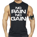 Bodybuilding NO PAIN NO GAIN Tanks Tops