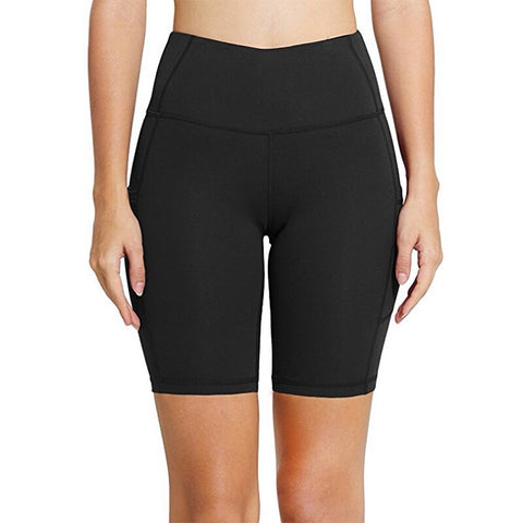 High Waist Elasticity Yoga Shorts
