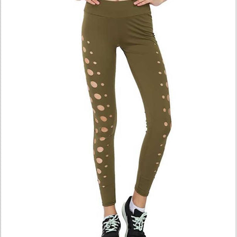 Cut-Out Leggings Fitness