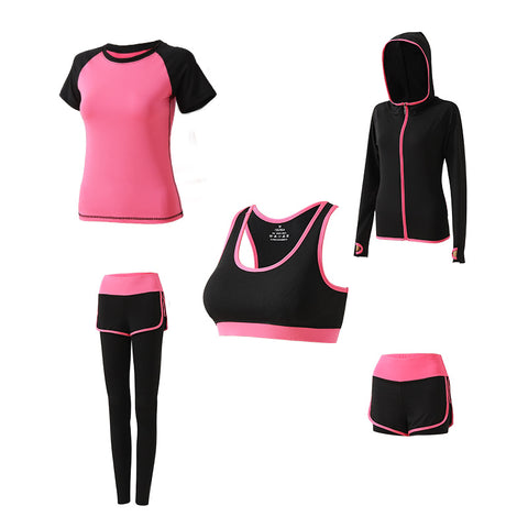 (5 Stück) Sports Yoga Set