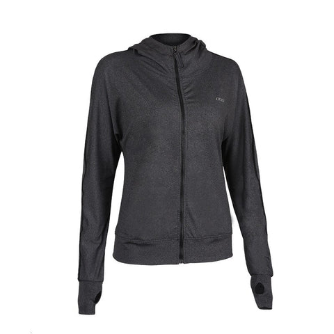 Hooded Zipper Sport Jacket