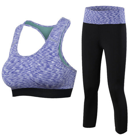 Yoga Fitness Sports Set Suit