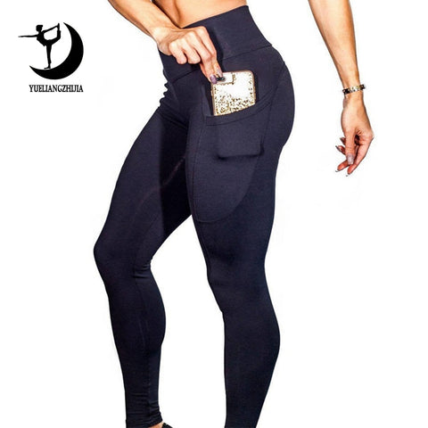 High Waist Leggings Mit Handytasche
