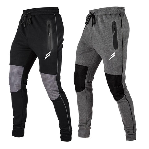 Jogging Pants Zipper Pocket