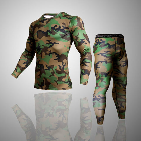 (2 Stück) Fitness Set Pants+T-Shirts