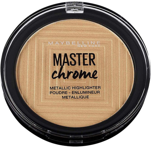 Maybelline New York Master Chrome Bronzer and Highlighter - ABALB beauty