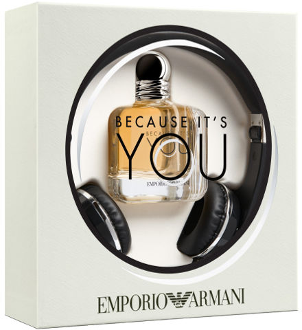 Emporio Armani Because It's You Women Set - ABALB beauty