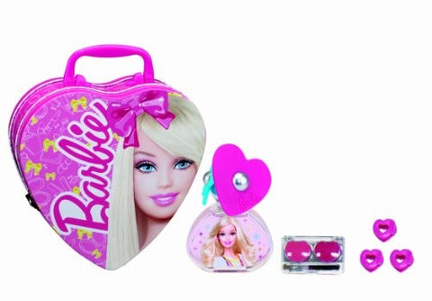 Barbie Coffret Eau De Toilette 50Ml Metal Box +Lipgloss - ABALB beauty