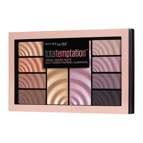 Maybelline Total Temptation Shadow & Highlight Palette - ABALB beauty