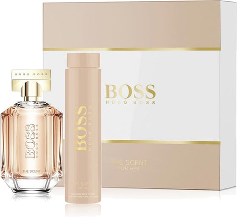 Hugo Boss The Scent Women Coff Eau de Parfum 100Ml + Body lotion 200Ml - ABALB beauty