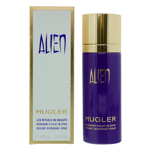 Thierry Mugler  Alien Women Deodorant Spry 100Ml - ABALB beauty