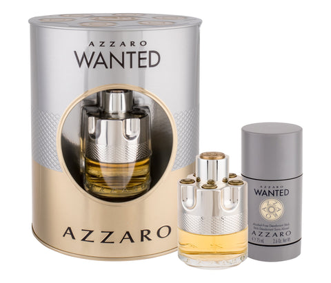 Azzaro Wanted Men Coffre Eau de Toilette 50Ml + Deostick 75Ml - ABALB beauty