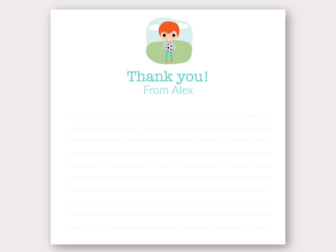 Alex Thank You Note Card