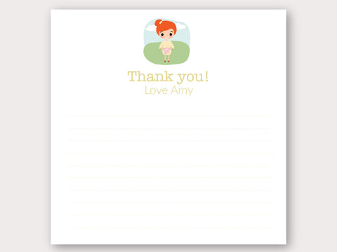 Amy Thank You Note Card