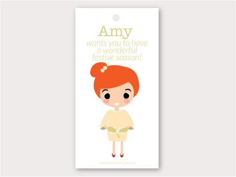 Christmas Gift Tag - Amy