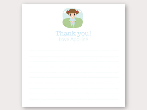 Apolline Thank You Note Card