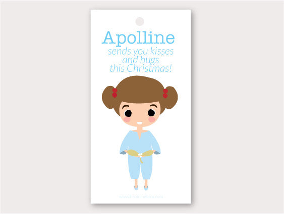 Christmas Gift Tag - Apolline