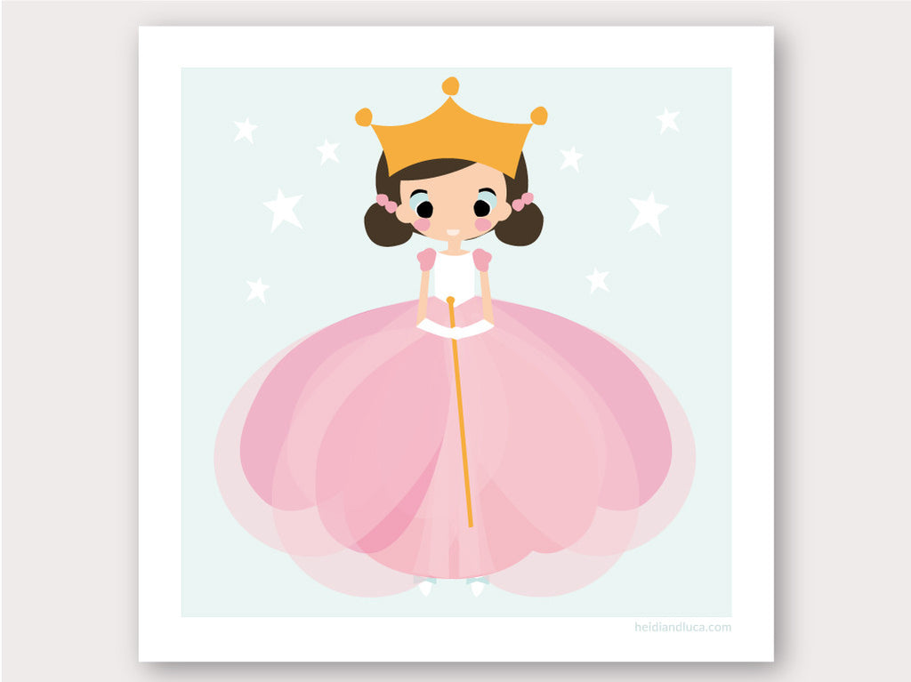 Greeting Card - Ballerina Girl