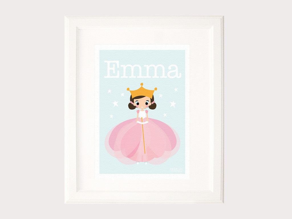 Name Print - Ballerina Girl