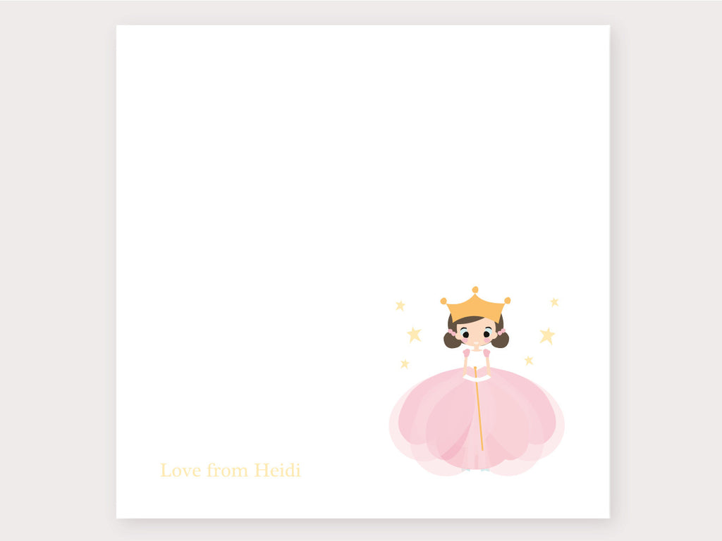 Ballerina Note Card