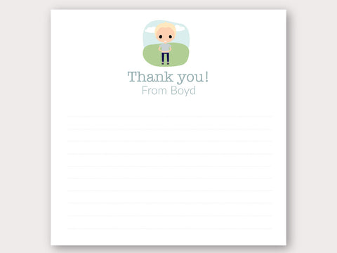 Boyd Thank You Note Card