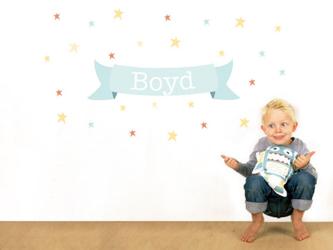 Stars for Boys Decal