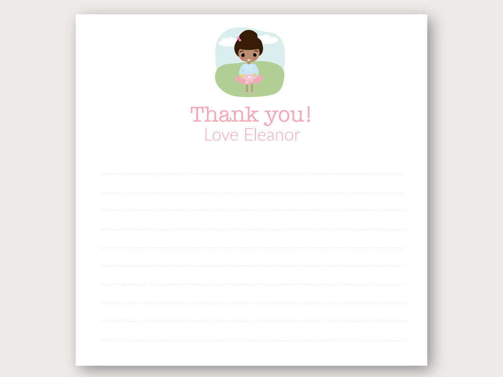 Eleanor Thank You Note Card